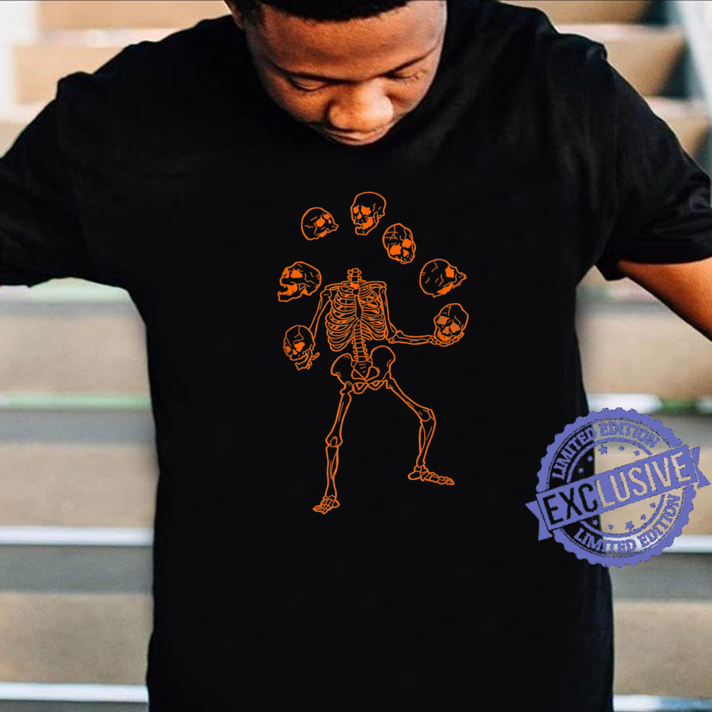 Skeleton Juggle Skull Happy Halloween 2021 Shirt Masswerks Store